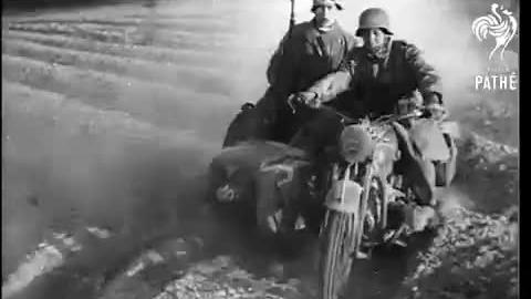 1941年巴巴罗萨行动真实战斗场面