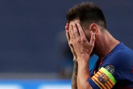 巴萨创3大耻辱纪录!梅西又1次惨案:1-6之后2-8,噩梦重演