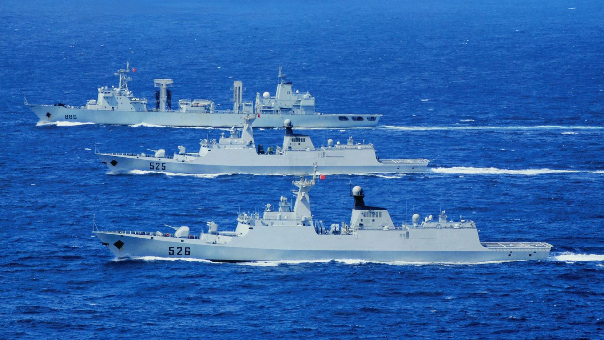 巴基斯坦海军接收中国054A护卫舰,印媒:中巴将会组建联合舰队