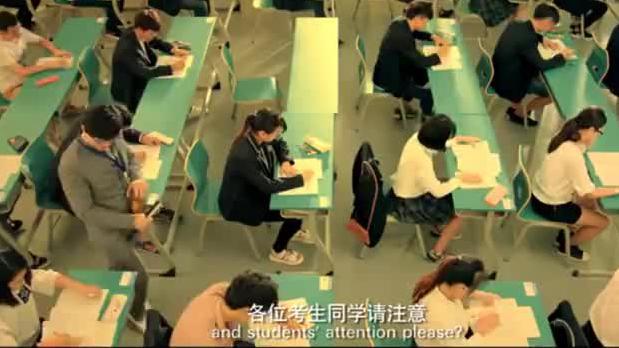 考试考到一半,广播突然播报正确考试答案,全校学生都要沸腾欢呼