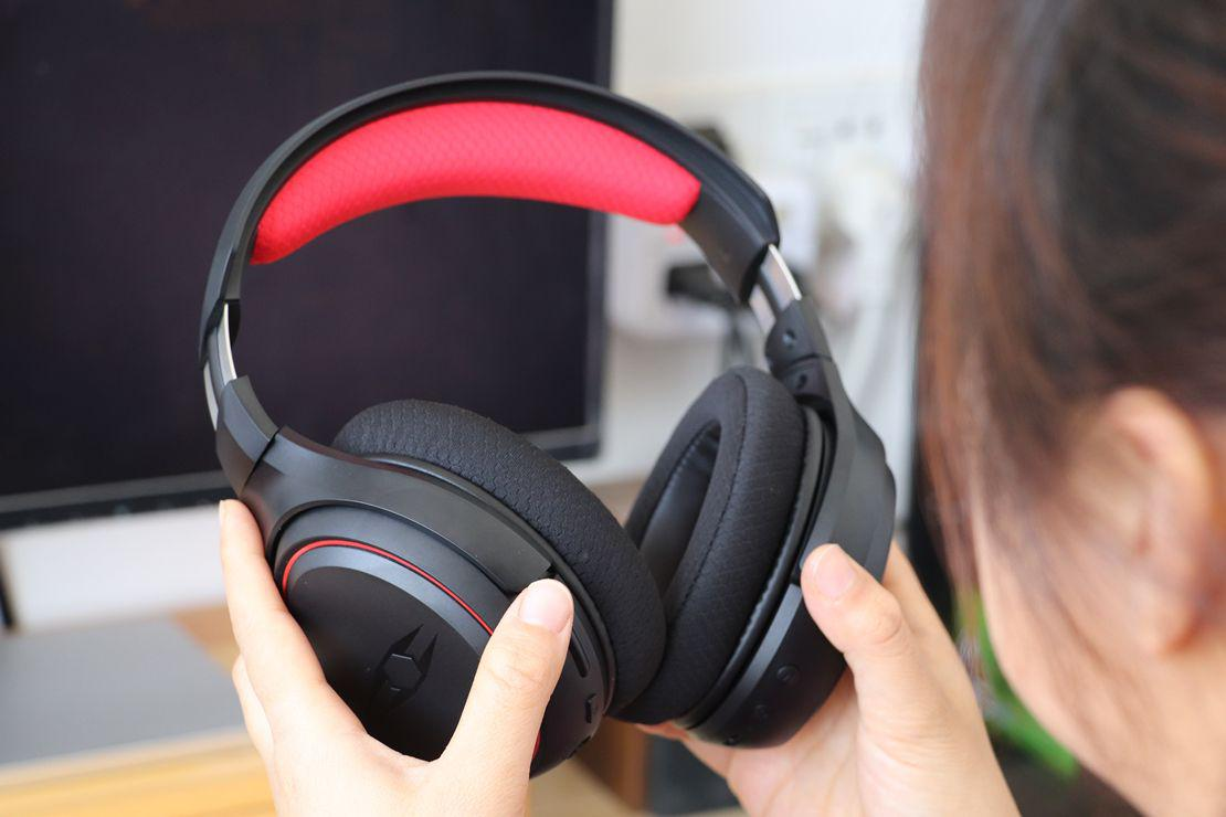 自由玩家知NOUS电竞耳机体验:驰骋游戏世界,有声才更有色