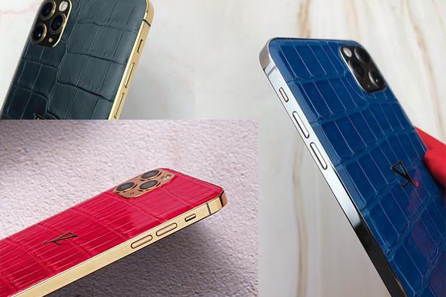 谁说iPhone 11 Pro不够商务?鳄鱼皮版本来袭,黑红蓝三色齐出