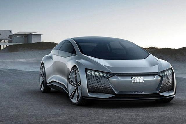 奥迪新电动概念车曝光,掀背设计或以A7作为原型,2021年亮相
