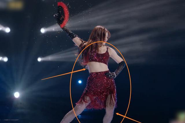 陈妍希录节目想瘦十斤,再看她最后一场公演的腰围,尺寸没搞错吧