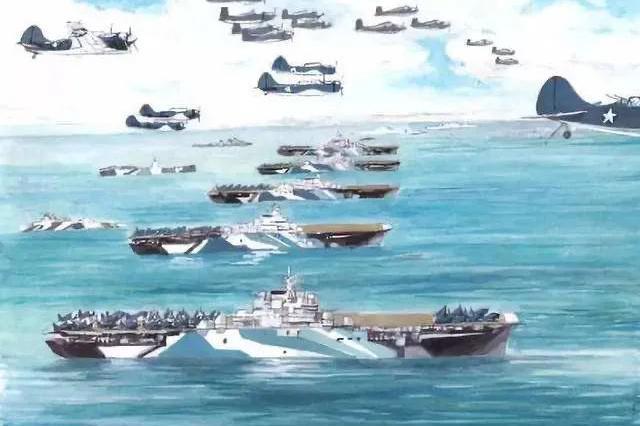 """马里亚纳空战中,日本被""""吊打""""了"""