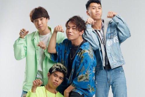 台湾新F4男团出道,龅牙眯眯眼都难看,台湾娱乐圈怎沦落至此?