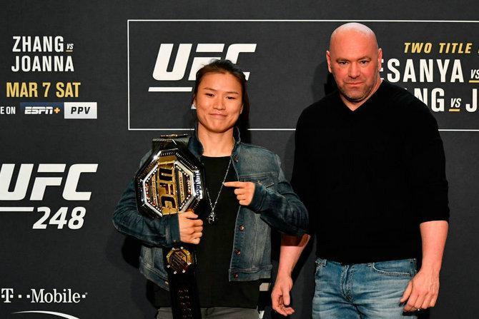张伟丽荣获ESPN年度最佳女MMA运动员和最佳比赛