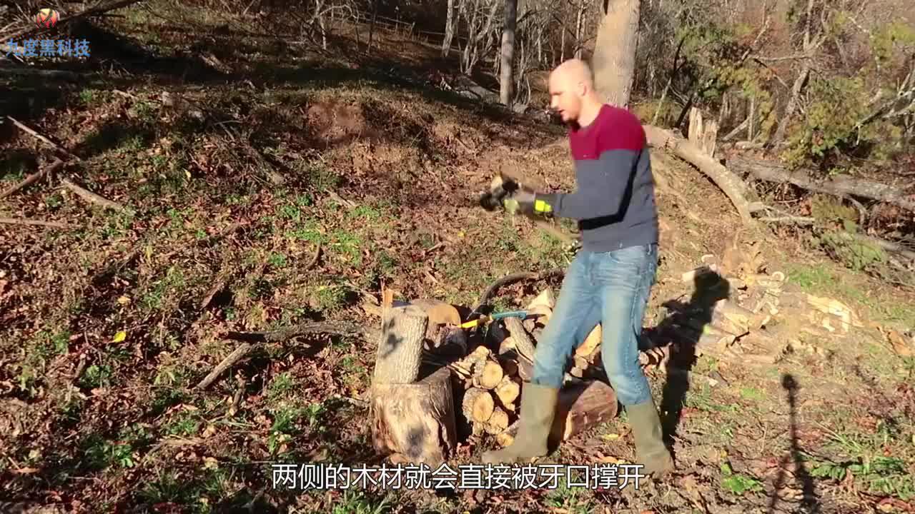 农村老大爷发明新型斧头,劈柴更加省力,已获得发明专利!