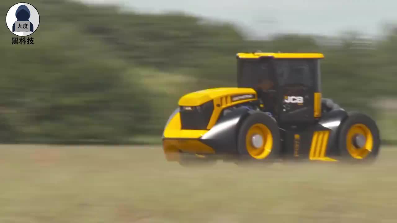 到底是拖拉机还是跑车?搭载7.2升发动机,最高时速超247公里