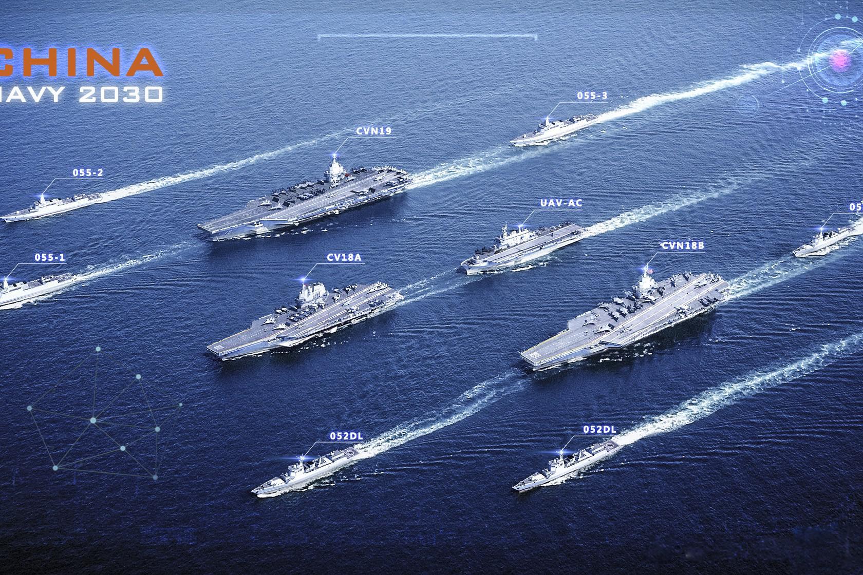 3艘部署、1艘战备、2艘维护,中国海军未来或需要6艘航母才够用!