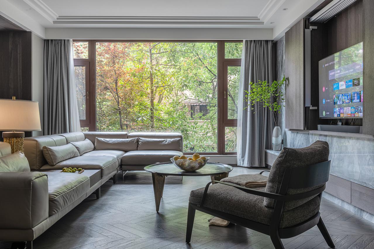 李晶作品:278㎡简约跃层,一见倾心的花园洋房,最满意主卧设计