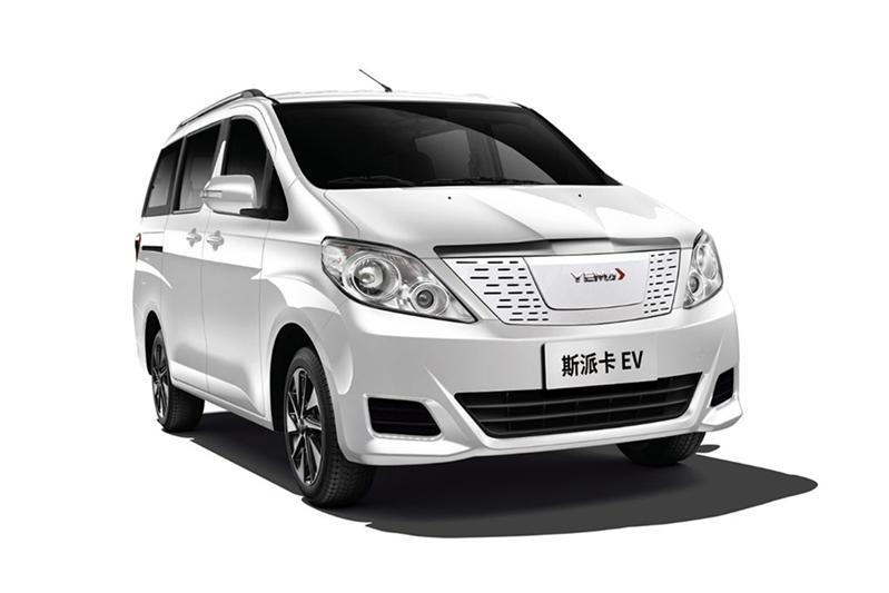 纯电动MPV 提供双色内饰 2021款野马斯派卡EV上市售10.99万起