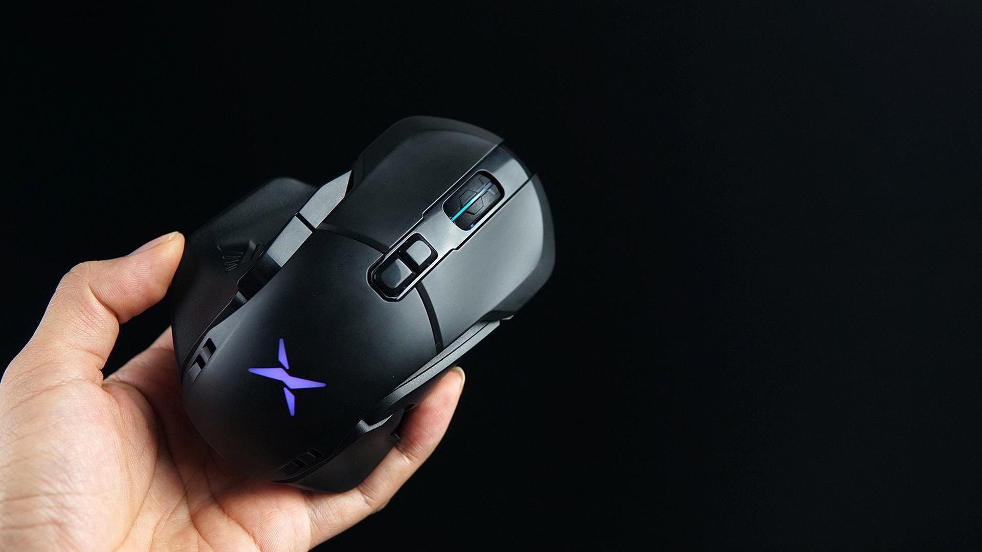 in外设|一鼠多形态!多彩 M629 无线游戏鼠标开箱拆解
