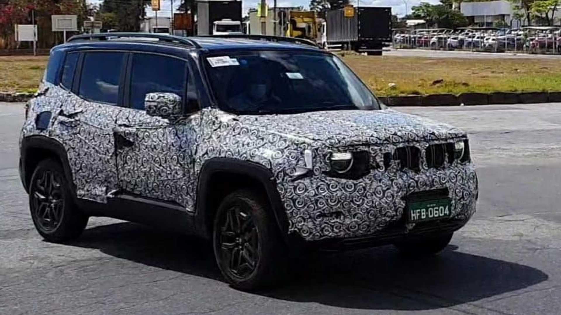 视频:外观小幅调整 新款Jeep自由侠谍照曝光-视频版