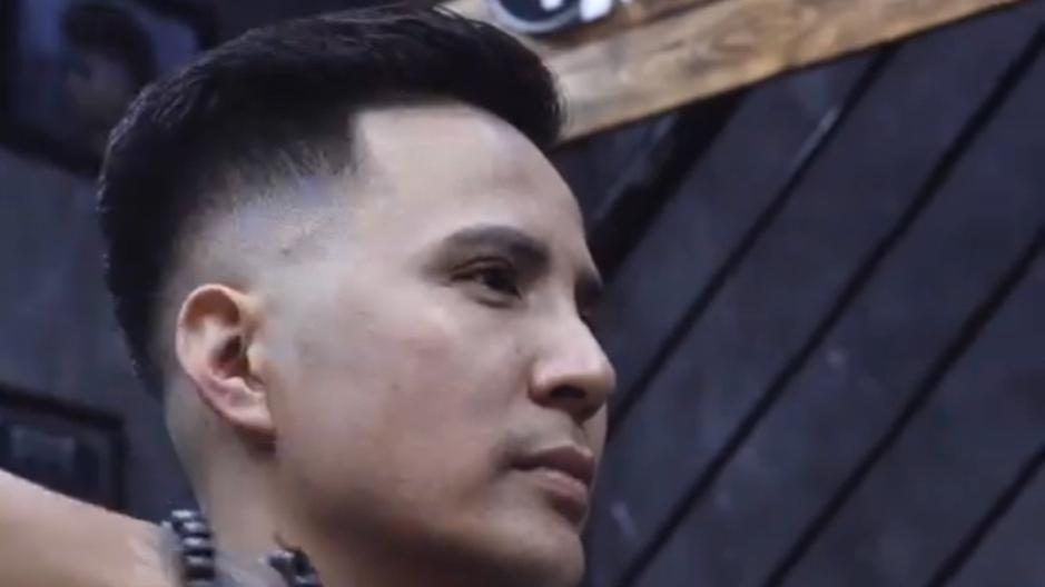 剪复古油头这么麻烦,难怪barber男士理发店都收那么贵,真值得