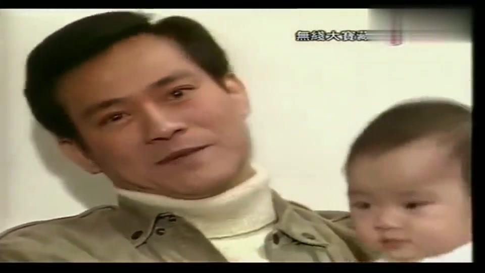 1987年,秋官抱着女儿郑欣宜做节目,网友:太像古天乐了!