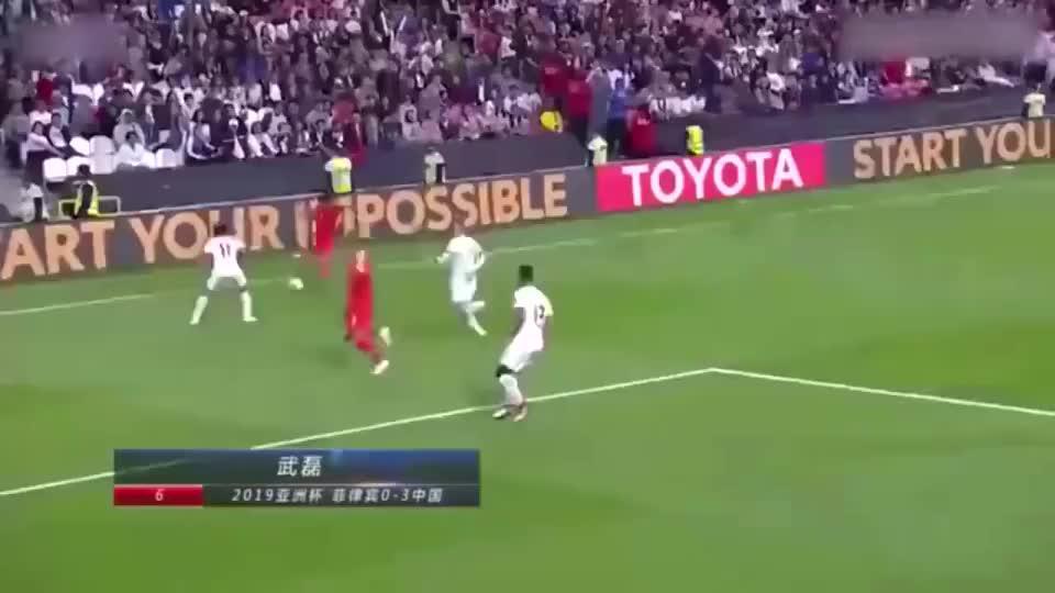 回眸国足10年十佳球:武磊3次上榜,邓卓翔1v4成经典