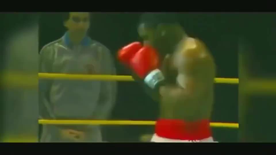 拳王泰森出拳的瞬间,科学无法解释,躲闪也非常溜