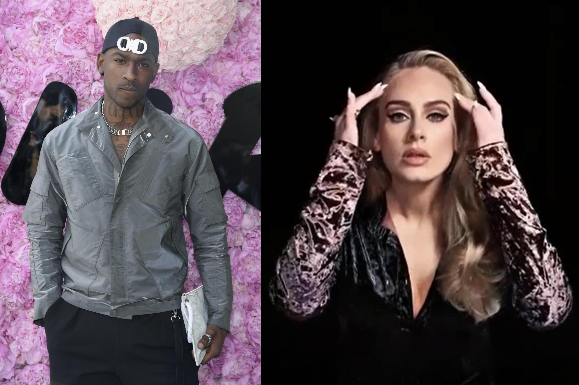 阿黛尔与嘻哈巨星关系密切,减肥后的她不但美丽,还将收获爱情?