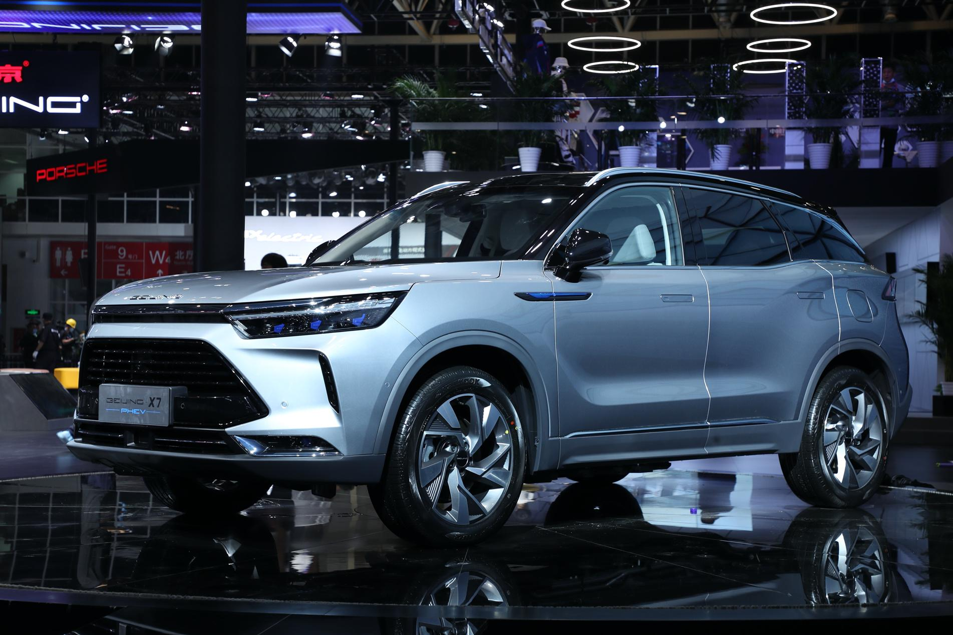 BEIJING-X7 PHEV亮相北京车展 开启BEIJING汽车质感悦行新体验