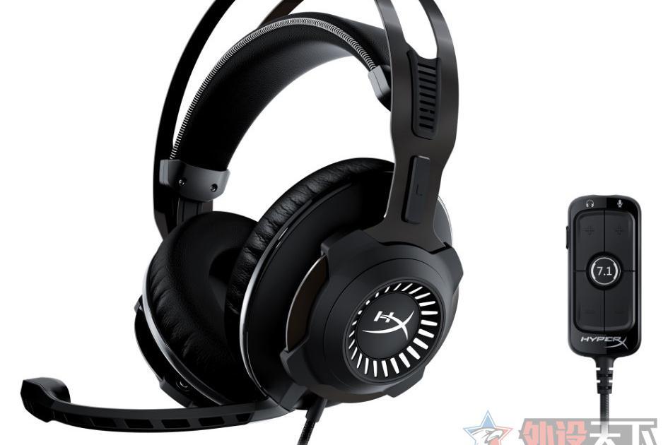 HyperX推出Cloud Revolver黑鹰7.1进化版游戏耳机
