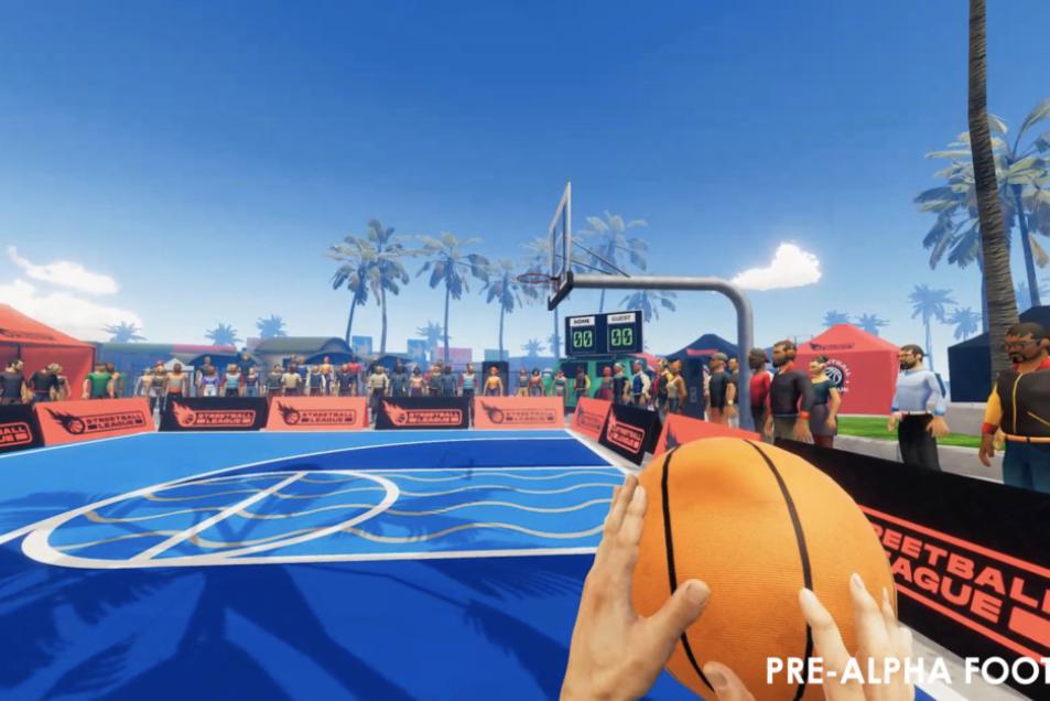 Oculus Quest和Steam即将推出VR篮球游戏《街球联盟》