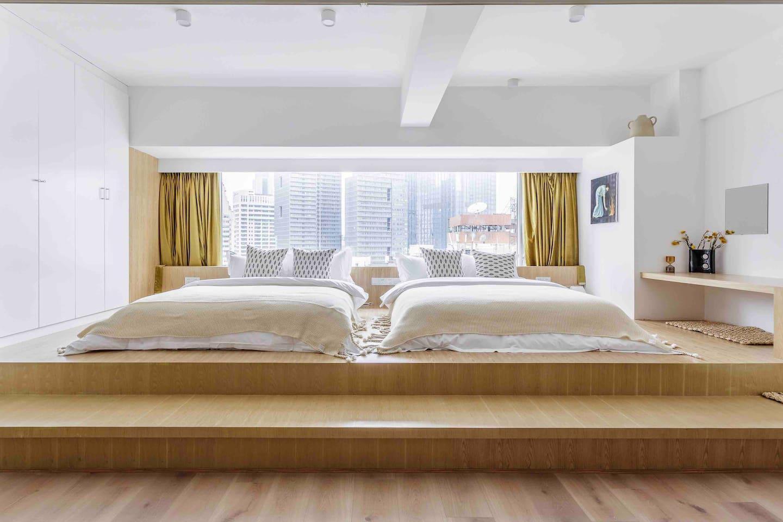 在成都找一处可以睡四个人的民宿,而且还要观景效果绝佳