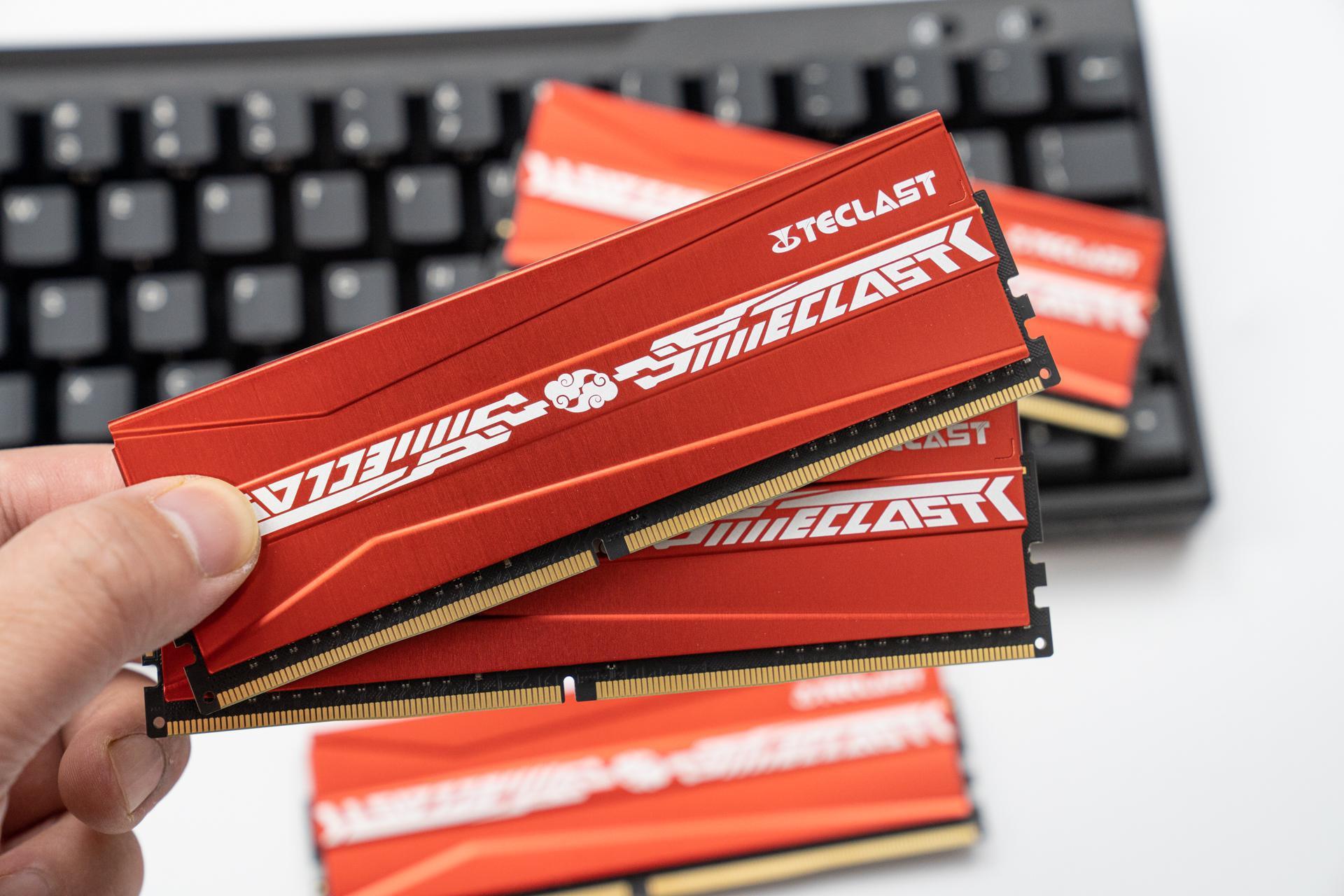 真香白菜价的国产性能DDR4内存条,值不值得选:台电 腾龙G40
