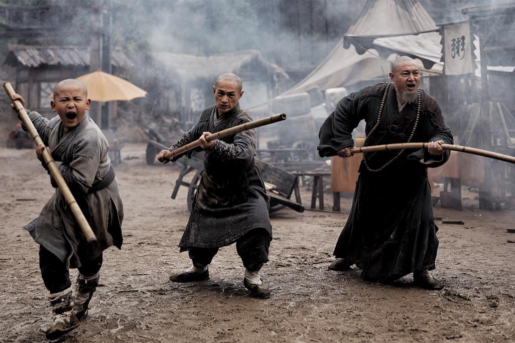 《南少林之怒目金刚》上映,樊少皇打戏硬朗,堪称少林寺力作!