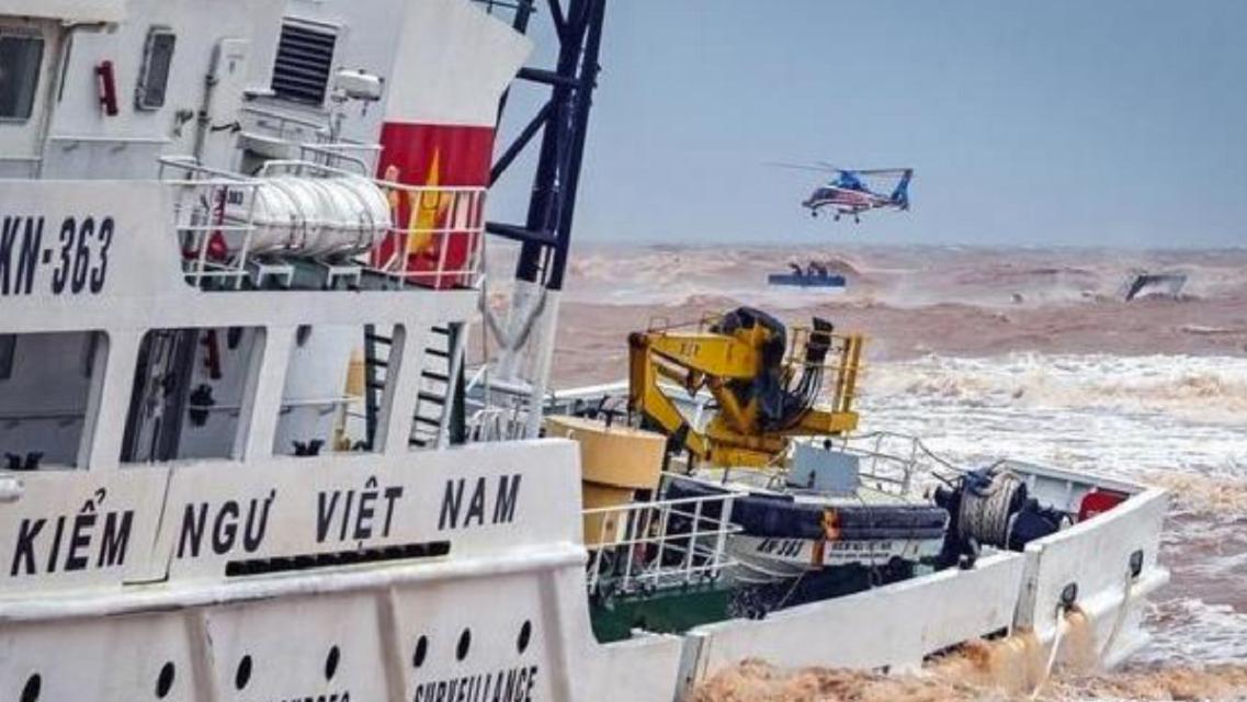 越南又遭当头一棒,掠夺南海领土意图曝光,珍贵挖泥船当场沉没