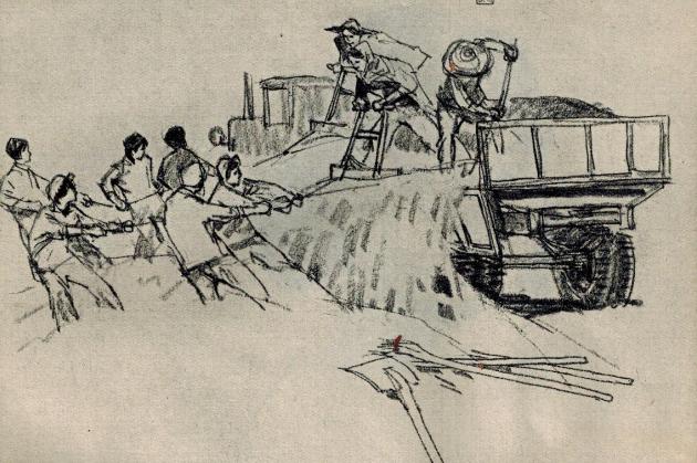 70年代的工农兵速写 看看那时候的人民公社