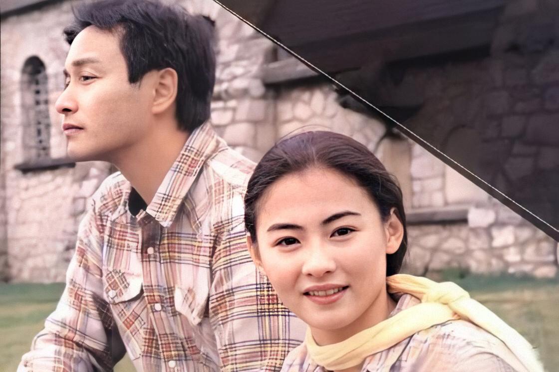 1999年,世纪之末,43岁的张国荣,与19岁的张柏芝