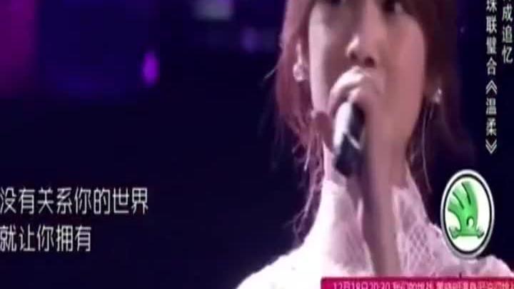 杨丞琳与蒙面唱将倾情一首《温柔》面具后面要是李荣浩,就更甜了