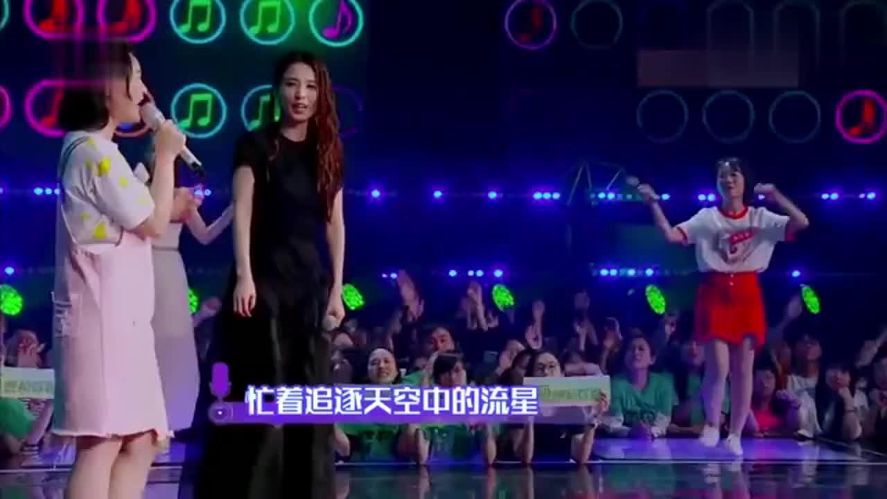 我想和你唱:田馥甄和女素人合唱《小幸运》!你真的很幸运!