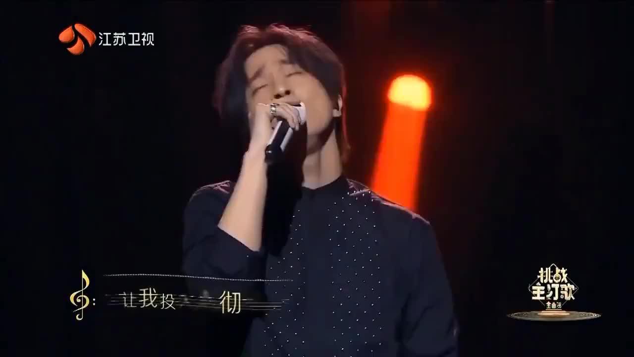 薛之谦金曲捞首次开嗓满含热泪,一首《独角戏》唱的伤心欲绝