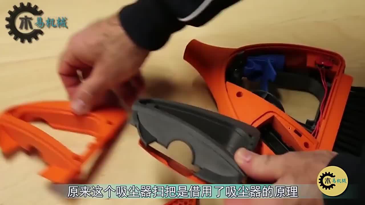 扫把里藏真空吸尘器?安5号电池用500次,比传统吸尘器更实用!