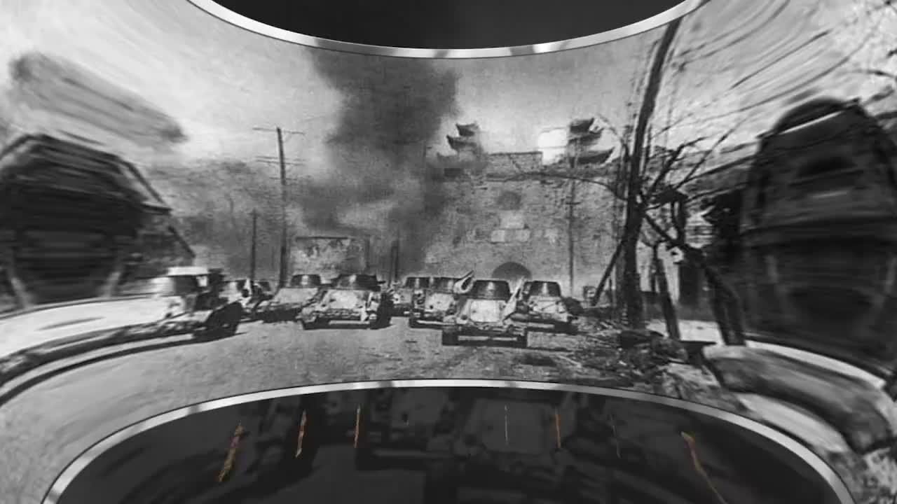 日军占领南京后,日军最后长官松井石根进城,结果街道空无一人!