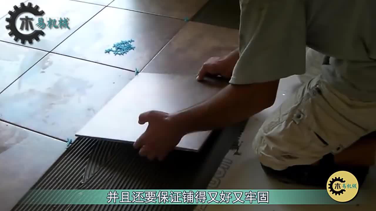 机械取代了人工!德国终于铺瓷砖机器人,一天铺设500平方米
