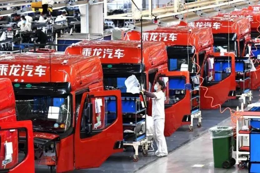 东风商用车上半年累计销售汽车34.55万辆,实现10%的增长