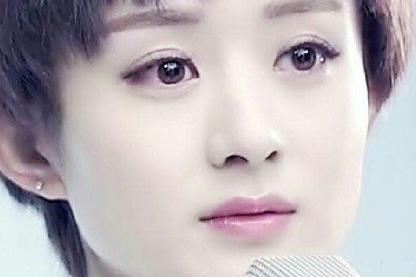 女星同款个性刘海,欧阳娜娜漫画女,看到吴昕:颜值巅峰!