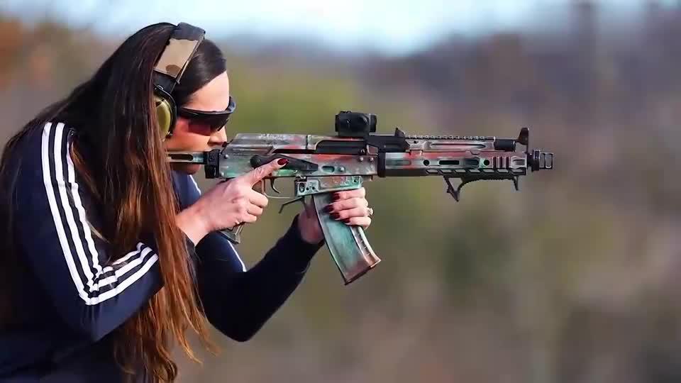 魔改过的ak步枪,你喜欢吗?