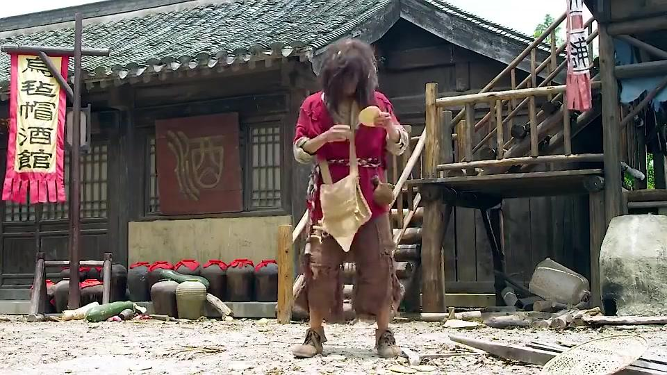 新侠客行:江湖人争抢的玄铁令,却被小乞丐捡到,谢烟客现身
