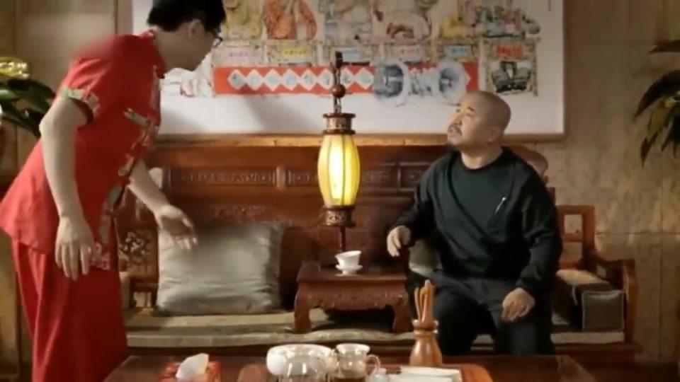 屌丝男士:大鹏教刘能什么叫人走茶凉