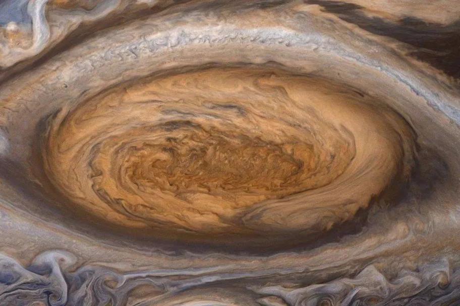 木星大红斑正在缩小,已经只有两个地球大了,但却保持相对稳定!