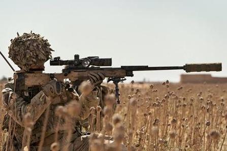 全世界综合性能最好的狙击步枪,毫无疑问是英国L115A3