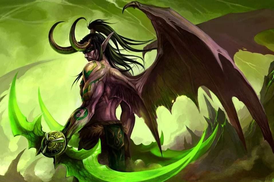 炉石传说恶魔猎手超模,玩家怒喷玩瞎子没脑子,设计师背锅?