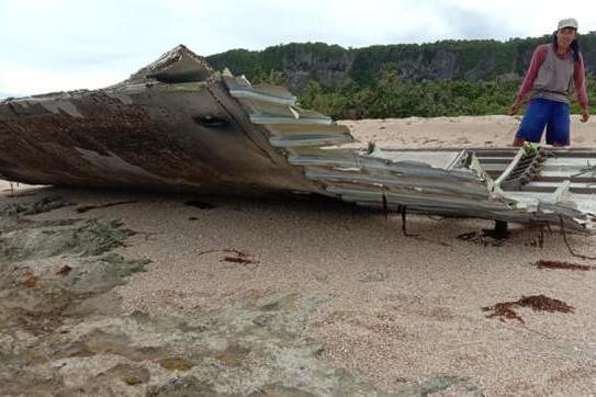 """菲律宾海岸出现火箭残骸,或许是""""胖五""""的杰作"""