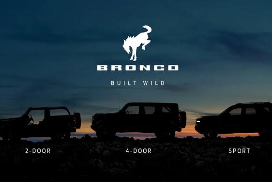福特复活Bronco,下周正式发布,首发车型连牧马人都汗颜
