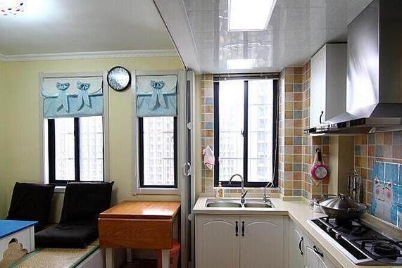 我家长沙75㎡,两房装出了100㎡的效果,特别是厨房的设计太赞了
