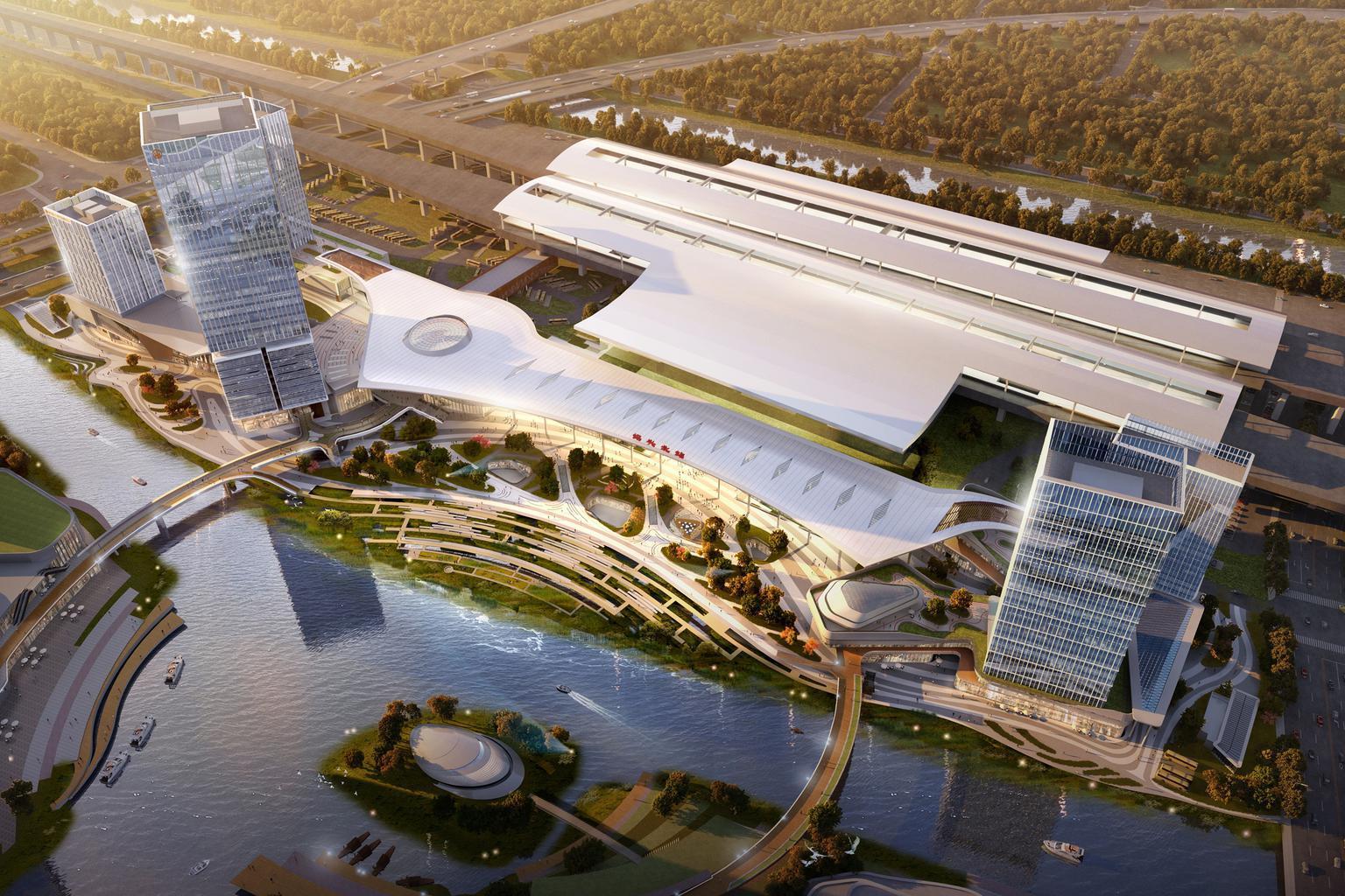 绍兴北站改造进展喜人,将成绍兴未来新门户,是浙江省重点工程
